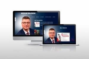 Projekt strony www Posła na Sejm Wiesława Krajewskiego