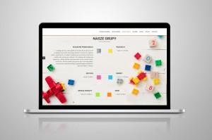Projekt strony www przedszkole w Radgoszczy