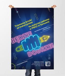 Plakat PWSZ rekrutacja 2020