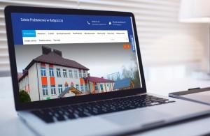 Projekt strony www Szkoła Podstawowa w Radgoszczy